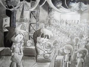 Scene discotheque